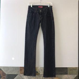Black Wash Levi Jeans